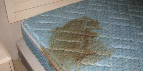 clean mattress at home