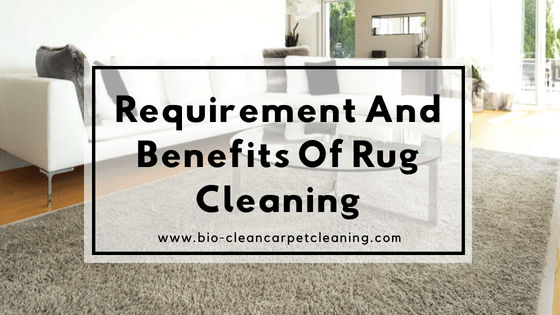 Requirement And Benefits Of Rug Cleaning