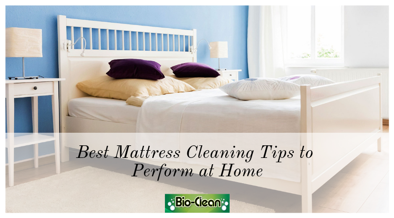 Best Mattress Cleaning Tips to Perform at Home