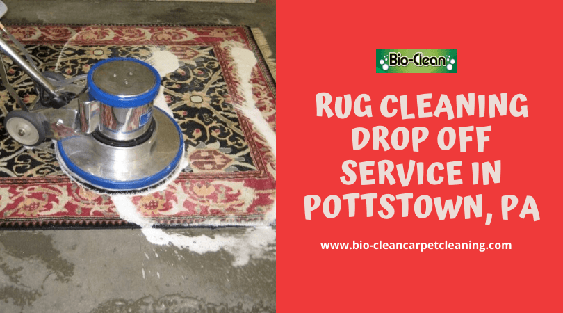 Rug Cleaning Drop Off Service in Pottstown PA