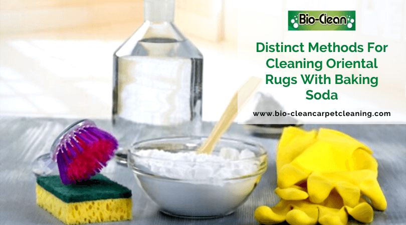 Distinct Methods For Cleaning Oriental Rugs With Baking Soda