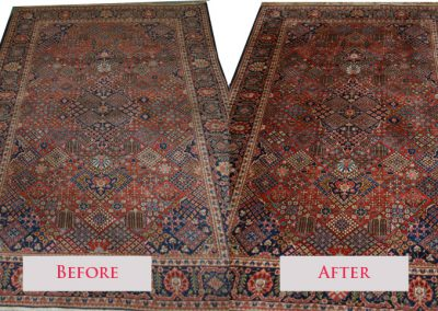 Area Rug Cleaning Before & After